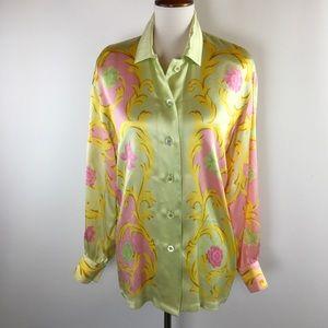 ESCADA MARGARETHA LEY Silk Blouse Italy